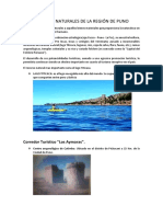 Recursos Naturales de La Región de Puno