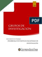 GRUPOS DE INVESTIGACION