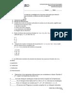 Examen de Grado Noveno Segundo Periodo 2019
