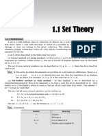 Chapter 1 Sets Theory