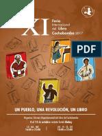 XI Feria del Libro Cochabamba