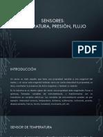 Sensores de Flujo