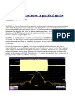 FFTs and Oscilloscopes a Practical Guide