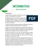 Informativo Apetelecom Junio de 2019