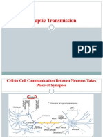 Synaptic Transmission and Types 1