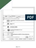 Ga, Datasheet and Thickener Mechanism