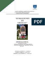 Euskaldunes en Uruguay