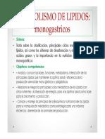Metab Lipidos Mono 2014 II Modo de Compatibilidad