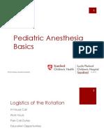 pediatric basic anesth manual