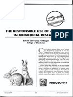 The Case for the Use of Animals in Biomedical Research
