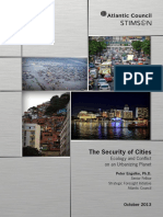 Security of Cities