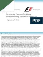 F1 Investor Deck