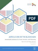 Blockchain Agriculture
