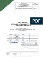 MQ13-69-DS-6050-PD1005 Rev1- Hoja Tecnica Sistema Contraincendio Edificio Multiproposito