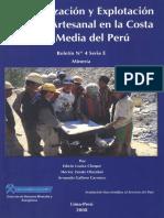 001-Mineralización y Explotación Minera Artesanal en La Costa Sur Media Del Perú2c 2008
