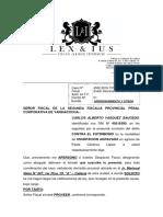 APERSONAMIENTO FISCALIA IMPPUTADO