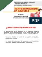 Gastroenteritis Por Listeria , Campylobacter y Enterobacterias