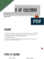 RCD2- Design of Columns