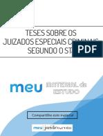 Ebook Teses sobre os Juizados Especiais Criminais segundo o STJ.pdf