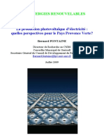 Production Photoviltaique BF