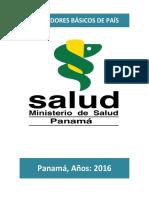 Indicadores Basicos de Salud 2016