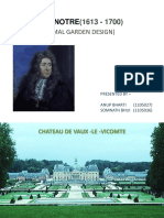 French Garden Andre Le Notre