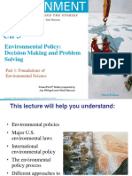 ENVS_Chapter 3_Environmental Policy - Decision Making & Problem Solving