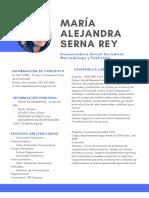 Hoja de Vida Maria Alejandra Serna Rey