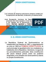 6. I UNIDAD. 5. El Orden Constitucional