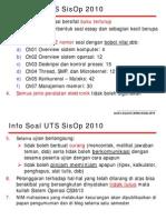 Info Soal UTS