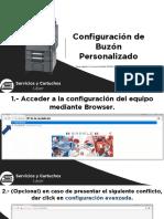 Manual de Configuración de Buzones Personalizados Kyocera