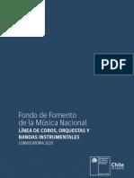 Fondo de Musica Nacional, Chile