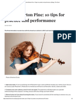 Rachel Barton Pine_ 10 Tips for Practice and Performance _ Blogs _ the Strad