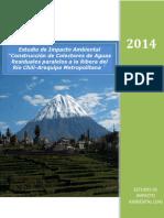 Estudio de Impacto Ambiental Construcción de Colectores de Aguas Residuales Chili-Arequipa Metropolitana 1