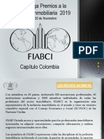 Convocatoria Premios Fiabci 2019