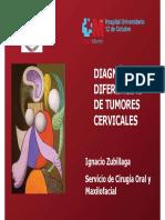 Diagnóstico de diferentes tumores cervicales