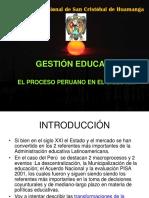 Gestion Educativa en El Peru