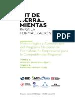 Kit de Herramientas Para La Formalizacion Tomo III