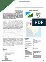 Roraima – Estabo brasileiro.