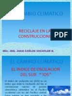EL CAMBIO CLIMATICO- DISERTACION