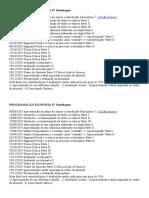 Programação Filosofia IV Modelagem