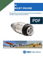 PBS TJ100 turbojet