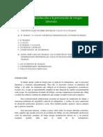 Unidad i. Conceptos Básicos Sobre Seguridad y Salud en El Trabajo