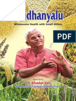 Siridhanya-English - Dr Khader Vali