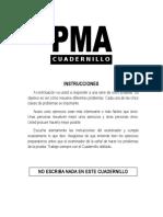 PMA - Cuadernillo