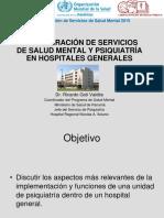 Unidades de Psiquiatría en Hospitales Generales.ppt