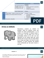 Marco Agil Capacitacion Corta - Actividad Elefantes de plastilina