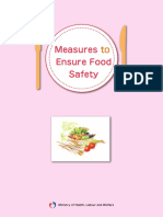 Measures to Ensure Food Safety