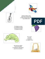 10 Adivinanzas y Objetos Color Verde