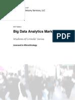 Dresner-Report-Big Data Analytic Market Study-WisdomofCrowdsSeries
